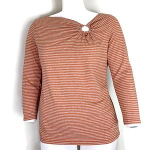 Michael Kors Stripe Long Sleeve Shirt